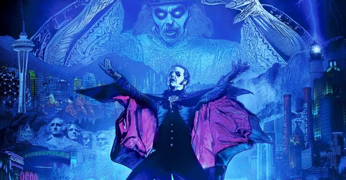 "Ghost 2019 Banner - ""The Ultimate Tour Named Death""! GHOST Announces North American Dates"