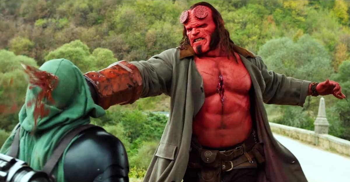 Hellboy 2019 Banner - HELLBOY 4K Ultra HD/Blu-ray/DVD Arrives in July with 3-Part Documentary
