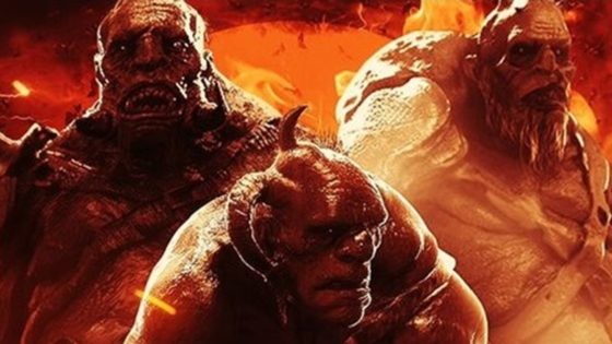 Hellboy Giants Banner 560x315 - Unleash the Beasts! Monsters of HELLBOY Get Their Own Character Posters