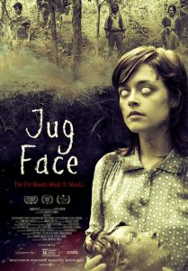 Jug Face Poster 209x300 - BLACK SITE Star Lauren Ashley Carter Talks THE WOMAN, JUG FACE, IMITATION GIRL, & Filming in a Haunted Bunker