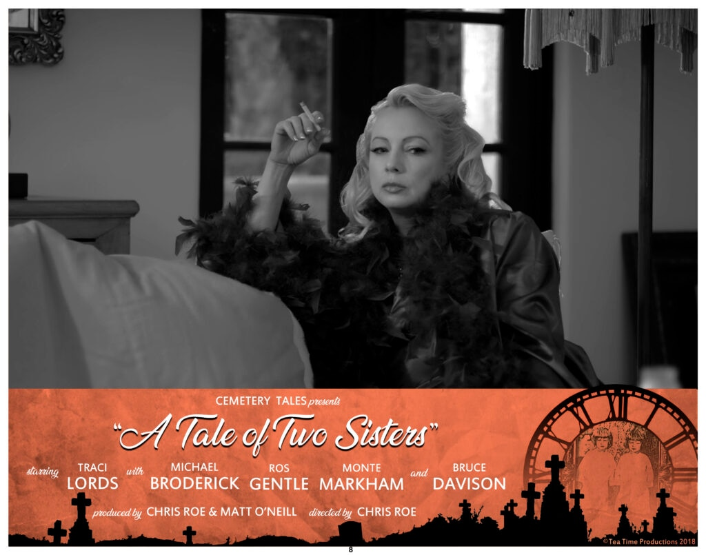 Lobby Card 4 1024x805 - Image Gallery from Chris Roe's CEMETERY TALES: A TALE OF TWO SISTERS