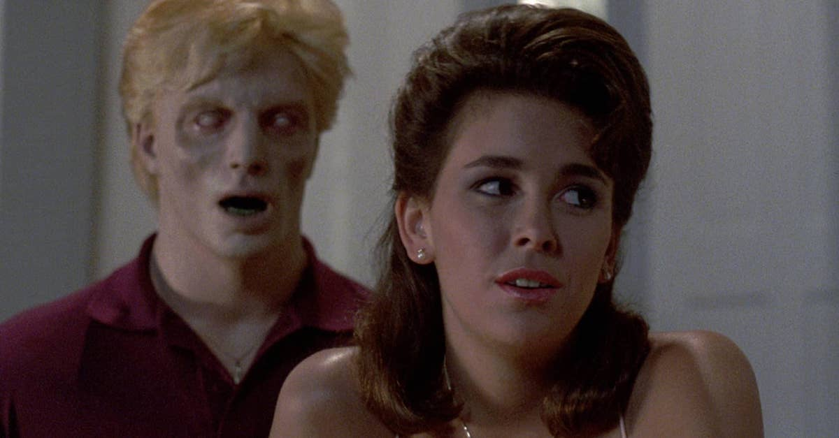 Night of the Creeps 2 - NIGHT OF THE CREEPS Blu-ray Review - Tom Atkins Still Rules