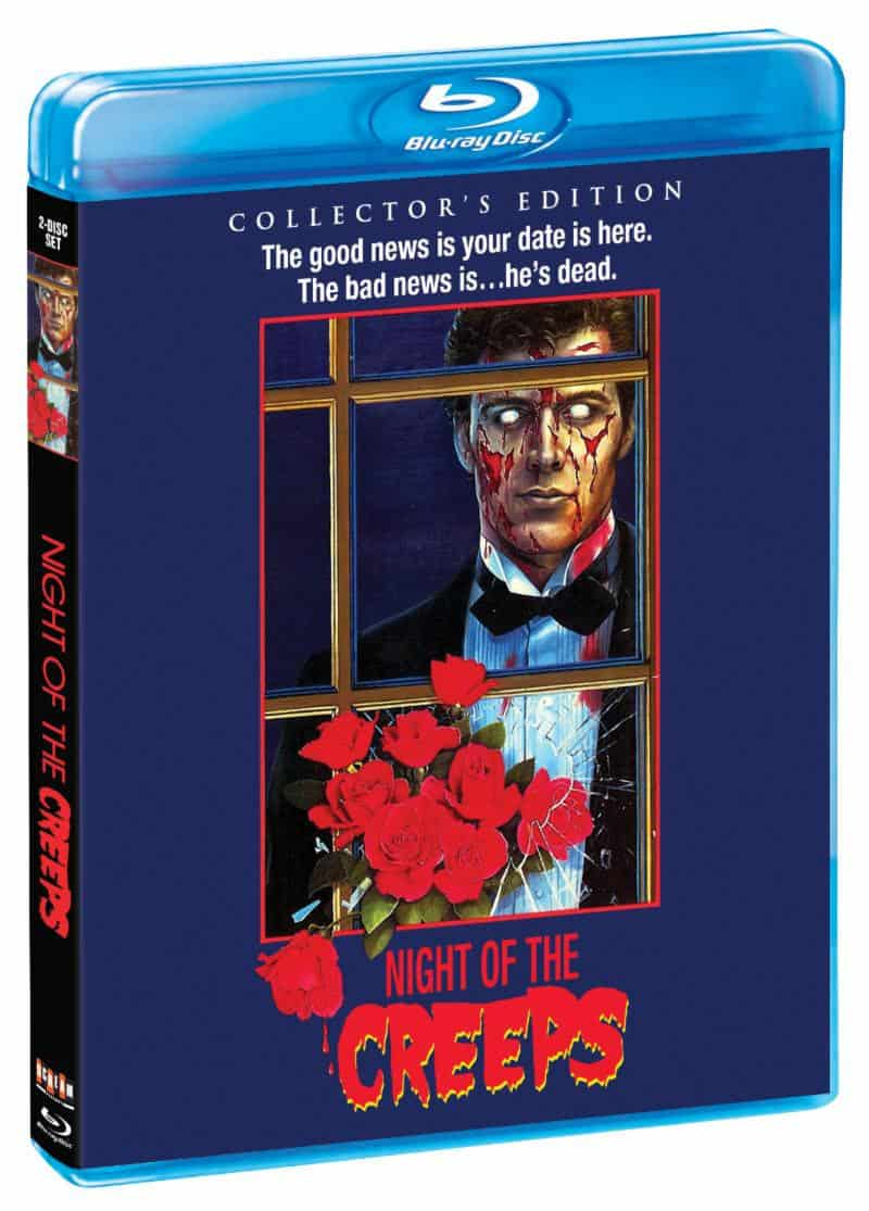 Night of the Creeps Bluray - NIGHT OF THE CREEPS Blu-ray Review - Tom Atkins Still Rules