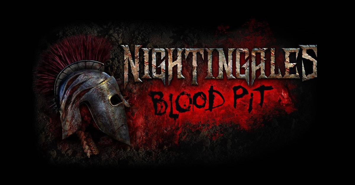 Nightingales Blood Pit Banner - Universal Orlando Announces First Original Maze for Halloween Horror Nights 2019, NIGHTINGALES: BLOOD PIT