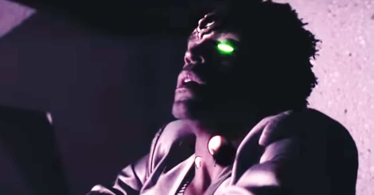 Perfect Banner - Humanity and Technology Merge in Psychedelic Trailer for Flying Lotus/Steven Soderbergh-Produced PERFECT