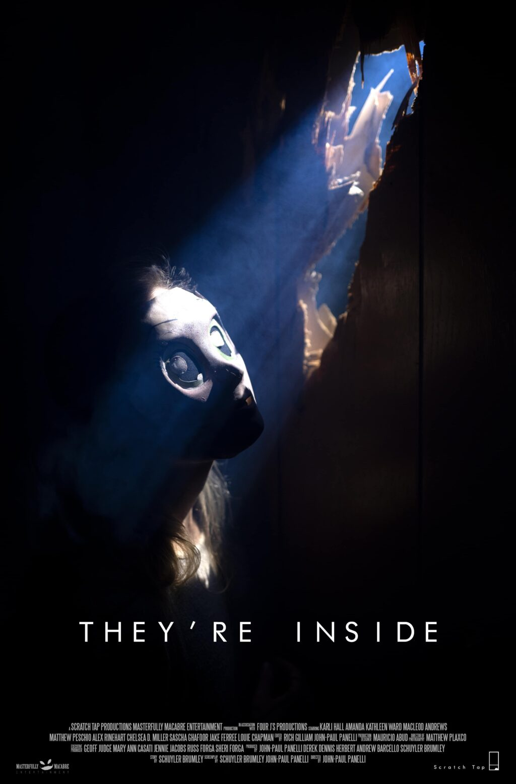 Premiere Theyre Inside Poster 1024x1555 - DREAD Presents: THEY'RE INSIDE and ASSASSINAUT Join the Family!