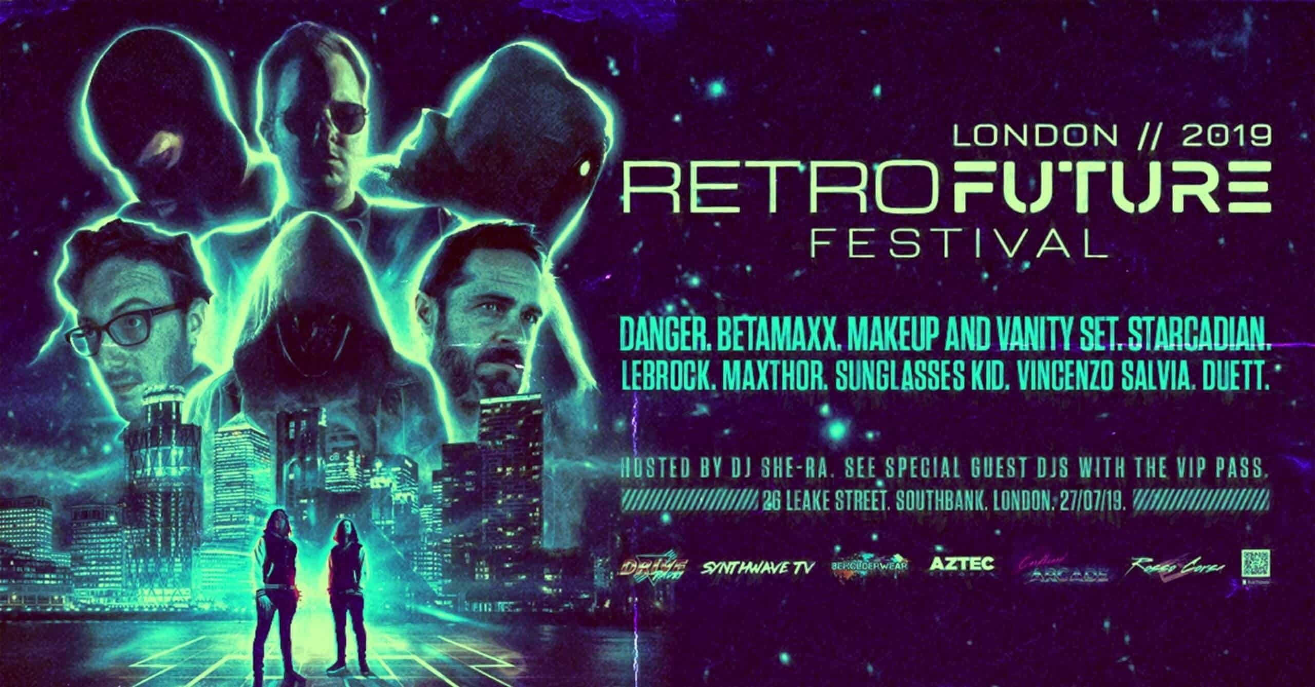 Retro Future Festival 2019 1 - Retro Future Festival 2019 Will Be The UK's Biggest Synthwave Event