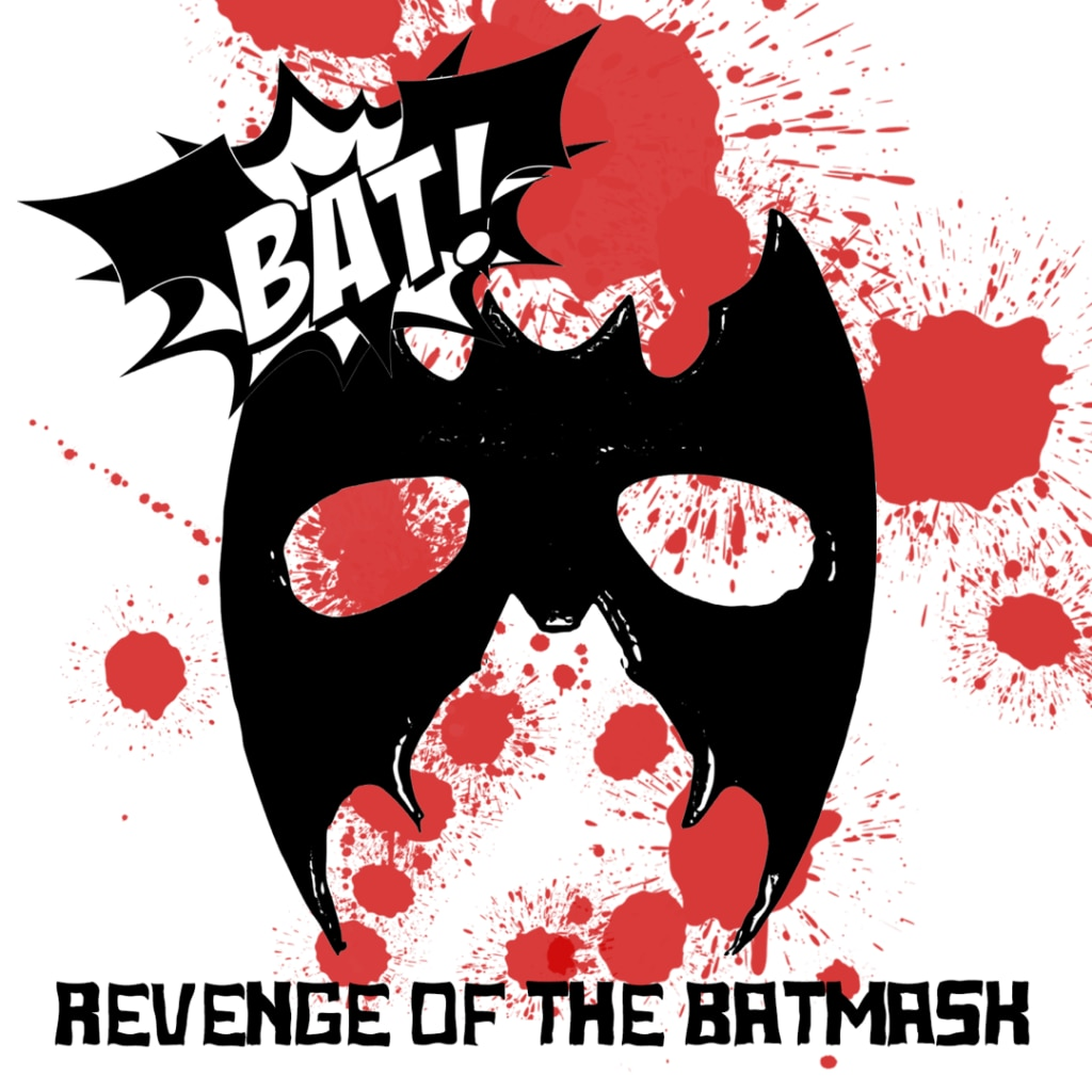 "RevengeOfTheBatmask 1080 1024x1024 - Exclusive Music Premiere: Hear ""Revenge of the Batmask"" by Burlesque/Bondage infused BAT!"