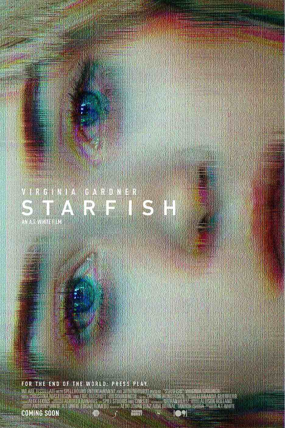 STARFISH poster - Interview: A.T. White on Mixtapes, Monsters, and His Stunning Debut Feature Film STARFISH