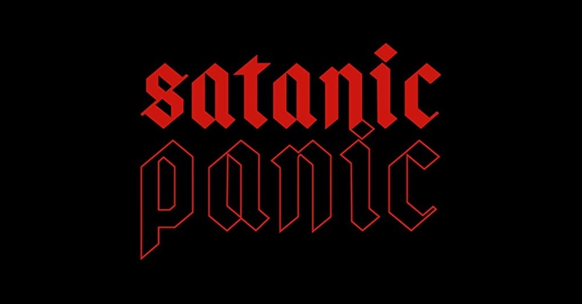 Satanic Panic Banner - Exclusive Image: Gather Around the Altar for Some Good Old Fashioned SATANIC PANIC