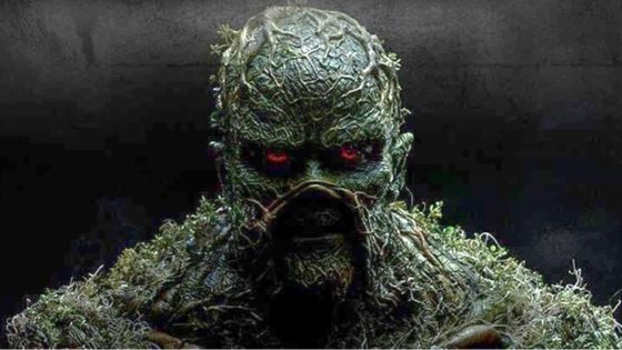 Swamp Thing Banner 1 560x315 - Trailer for DC's SWAMP THING TV Series Has a Heavy Horror Vibe