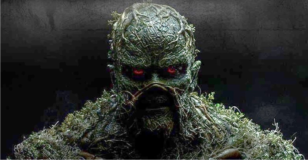 Swamp Thing Banner 1 - New Poster Set for DC's SWAMP THING TV Series Quotes Ernest Hemingway