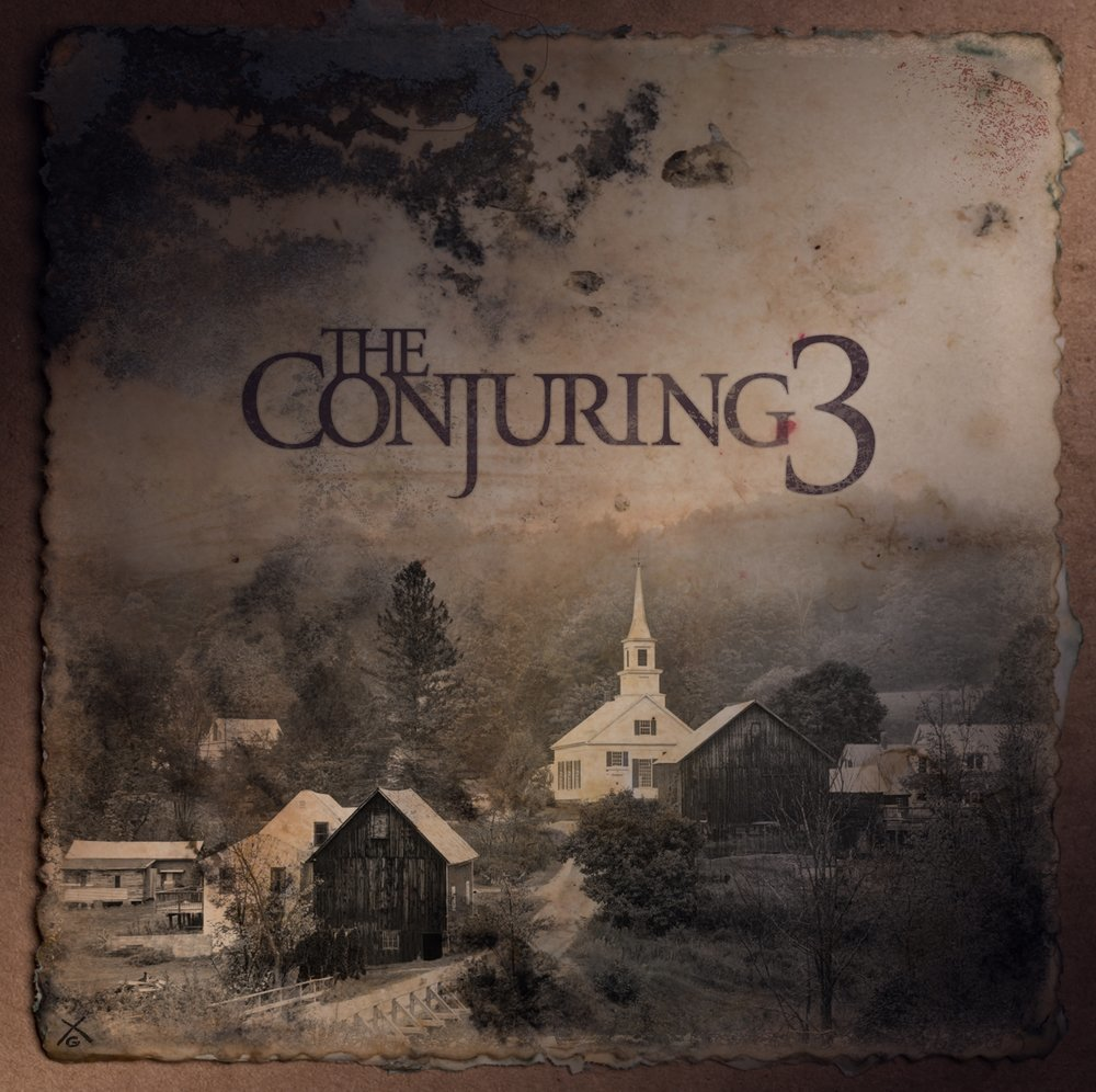 The Conjuring 3 - Logo and 1st Art Revealed for THE CONJURING 3