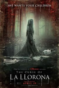 The Curse of La Llorona Poster 202x300 - Before You See THE CURSE OF LA LLORONA Learn the Real Legend of The Weeping Woman