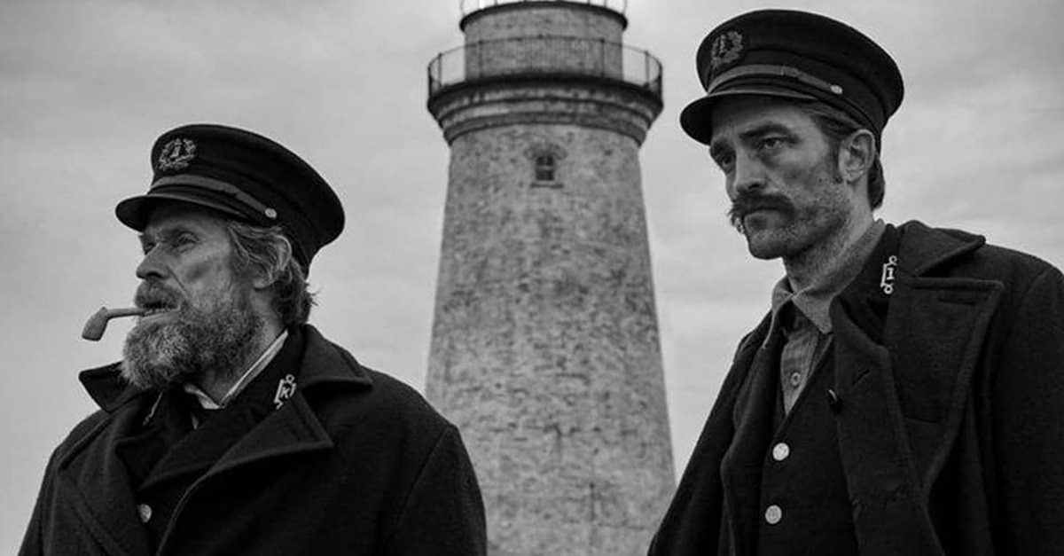 "The Lighthouse Banner - Here's a ""First Look"" at THE WITCH Director's Sophomore Feature, THE LIGHTHOUSE"