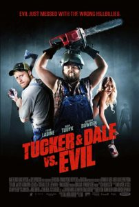 Tucker and Dale vs Evil poster 202x300 - TUCKER & DALE VS EVIL Sequel in the Works--But Probably Won't Be a Movie