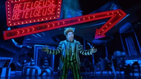 beetlejuice musical banner 560x315 - Trailer and 2 Songs from BEETLEJUICE: THE MUSICAL