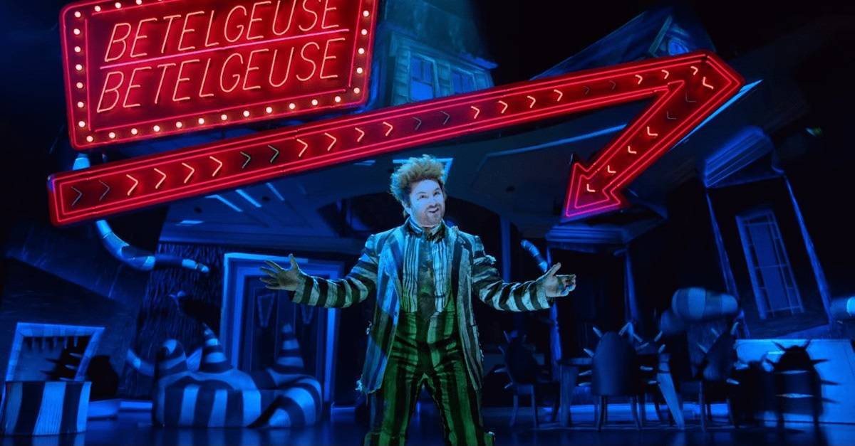 Image result for beetlejuice musical banner