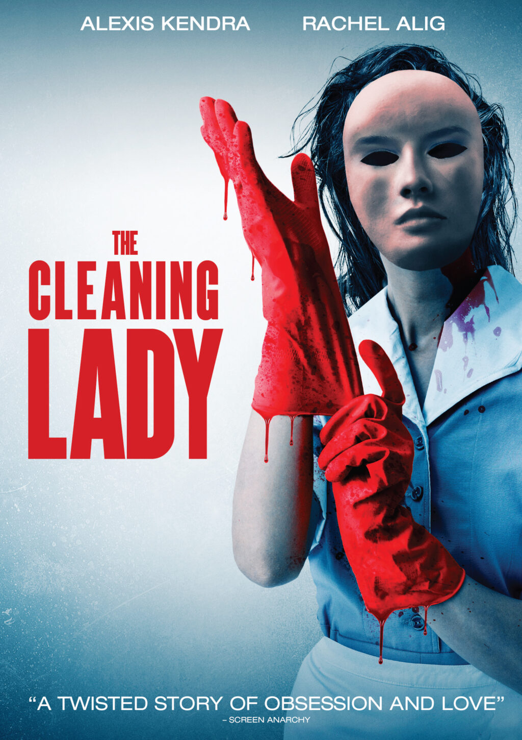 cleaninglady DVD HIC 1024x1449 - Try Not to Get Blood on Your Hands With The Exclusive Key Art Reveal For THE CLEANING LADY
