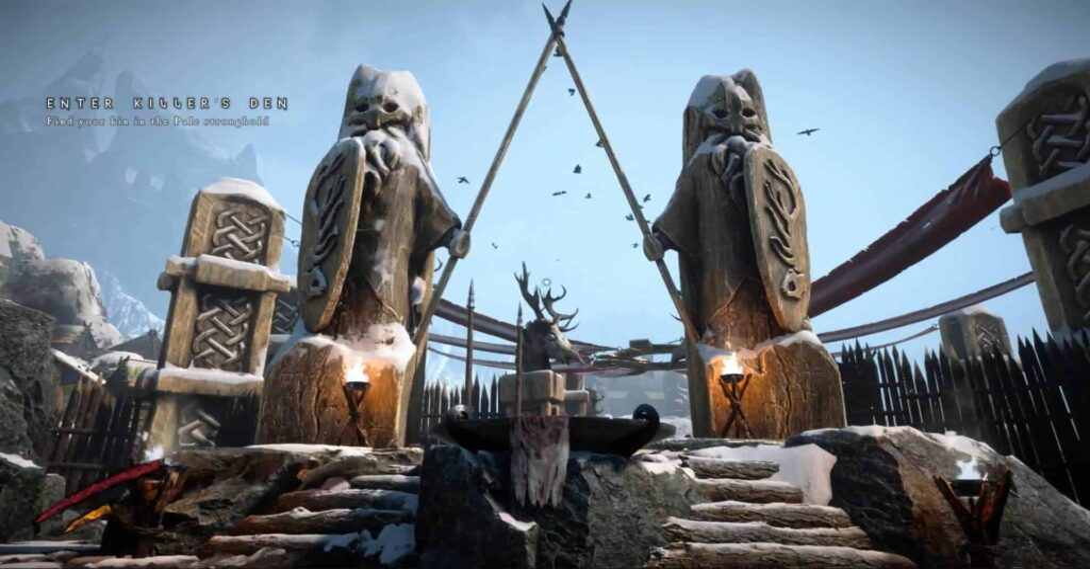 darkborn34 1 1024x576 - Play As The Monster In Viking Horror Game DARKBORN