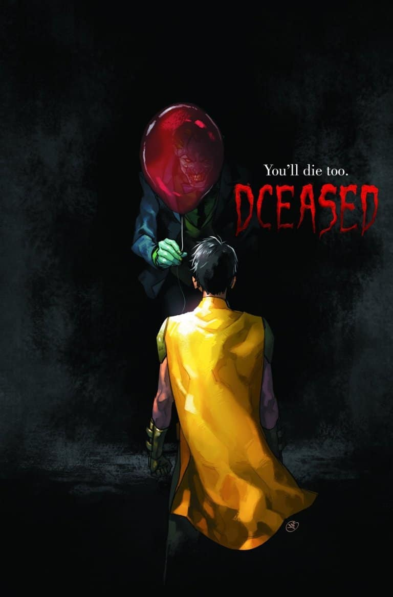 dceased 3 - DC Does Horror! 6-Issue DCeased Series Features Horror Movie Inspired Covers