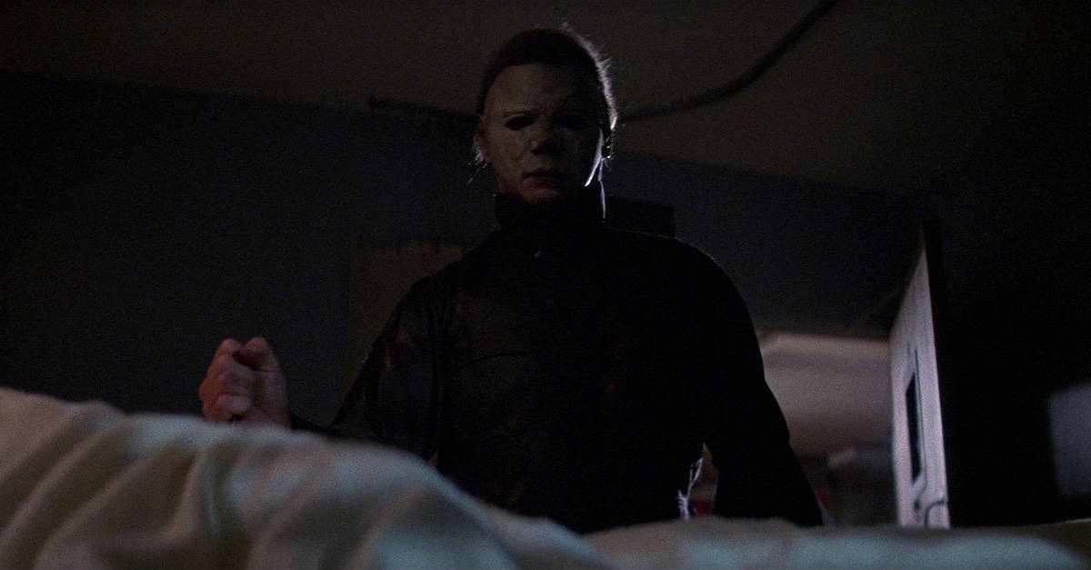"halloween2banner - ""He's Coming To Get You, Laurie!"": What Dr. Dementia's Halloween Horror Movie Marathon Tells Us About Michael Myers And Laurie Strode"