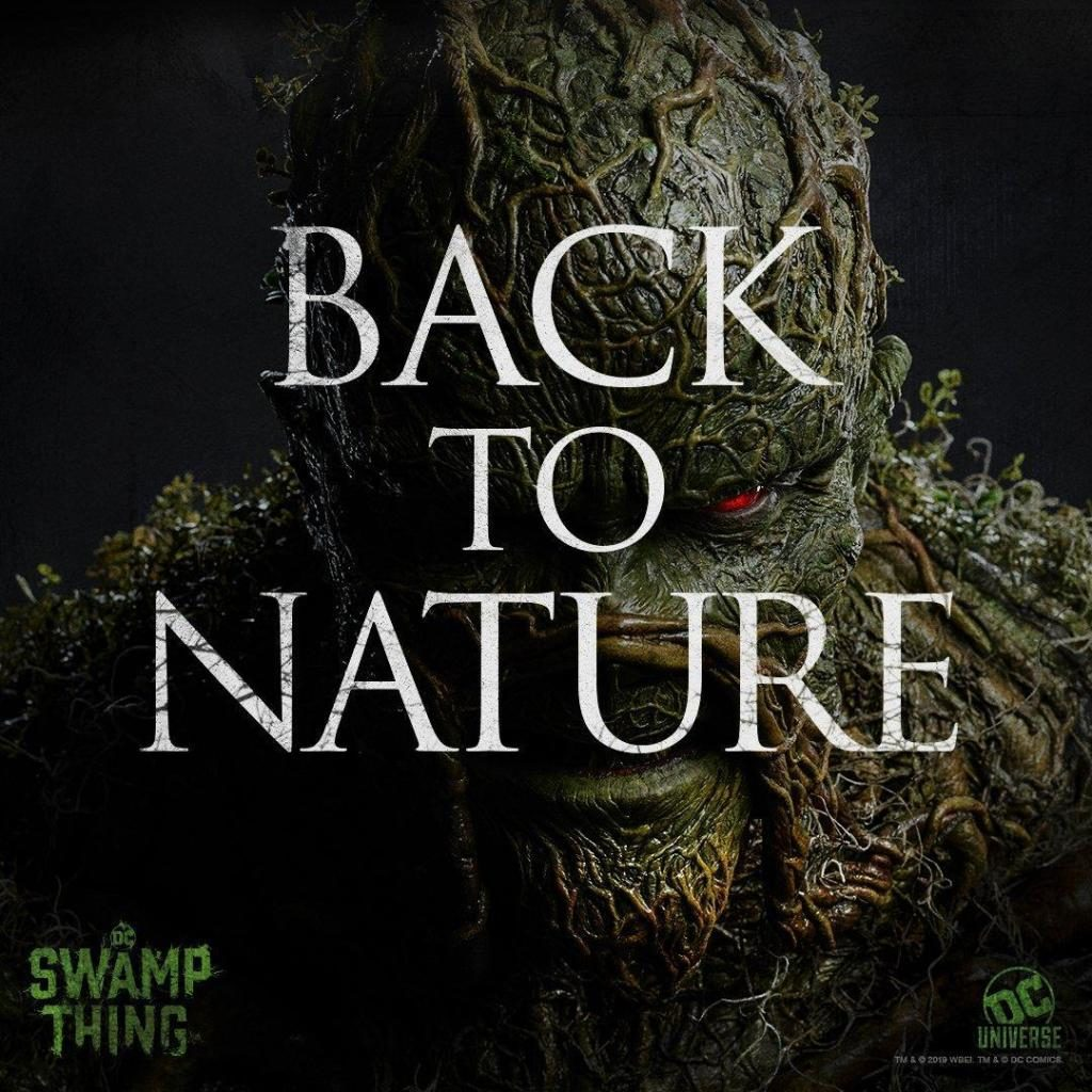 swamp thing 1 1024x1024 - New Poster Set for DC's SWAMP THING TV Series Quotes Ernest Hemingway
