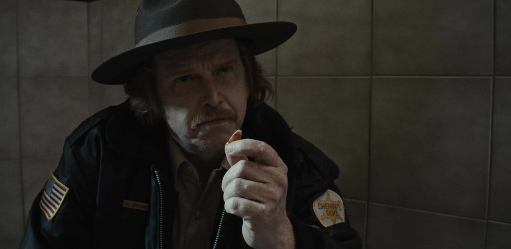 CANDY CORN 2019 Courtney Gains as Sheriff Bramford 1024x499 - DREAD Presents: Let's Go Trick or Treating and Get Some CANDY CORN!