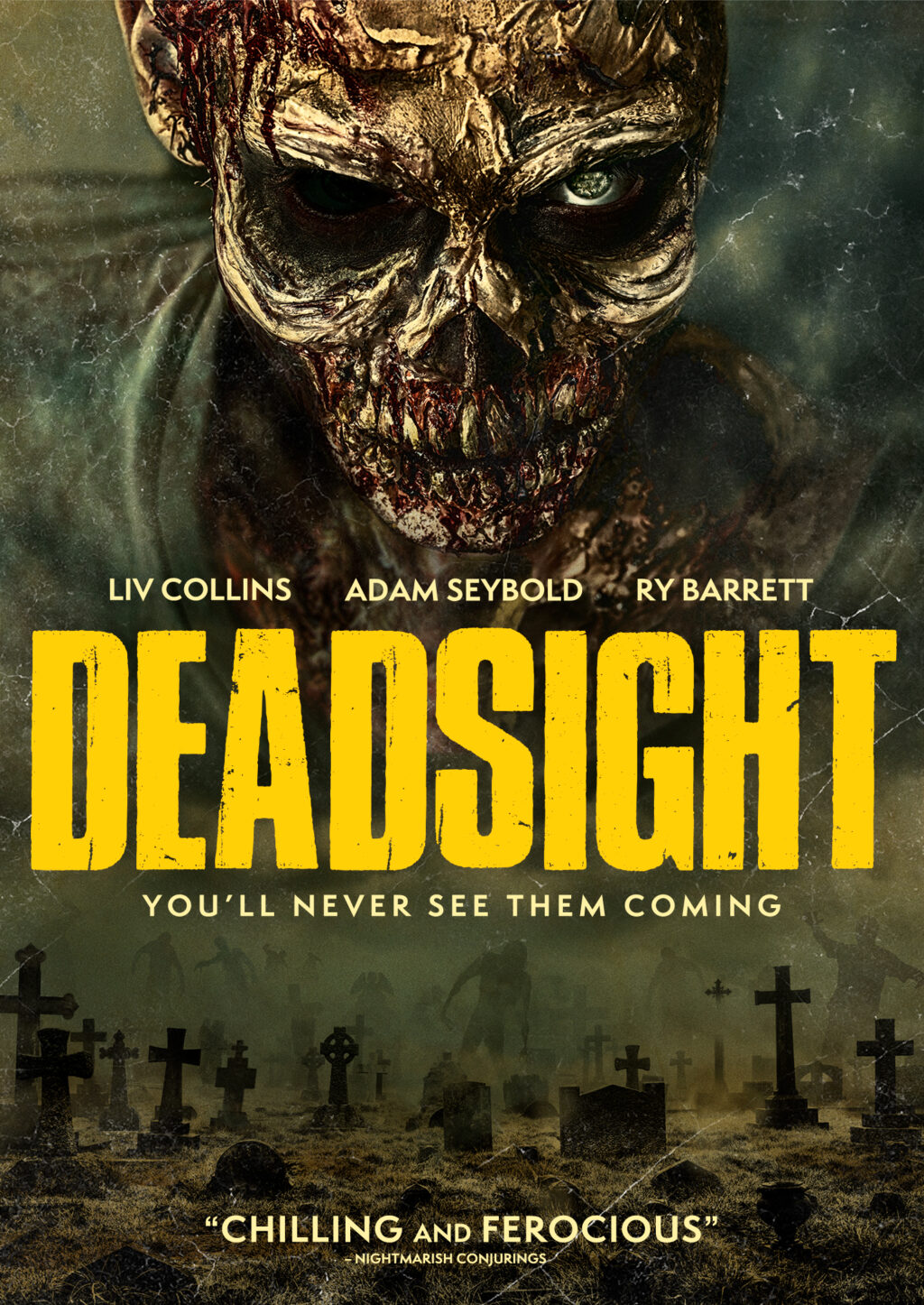 Exclusive: DEADSIGHT Key Art is a Zombie-Filled Good Time - Dread Central