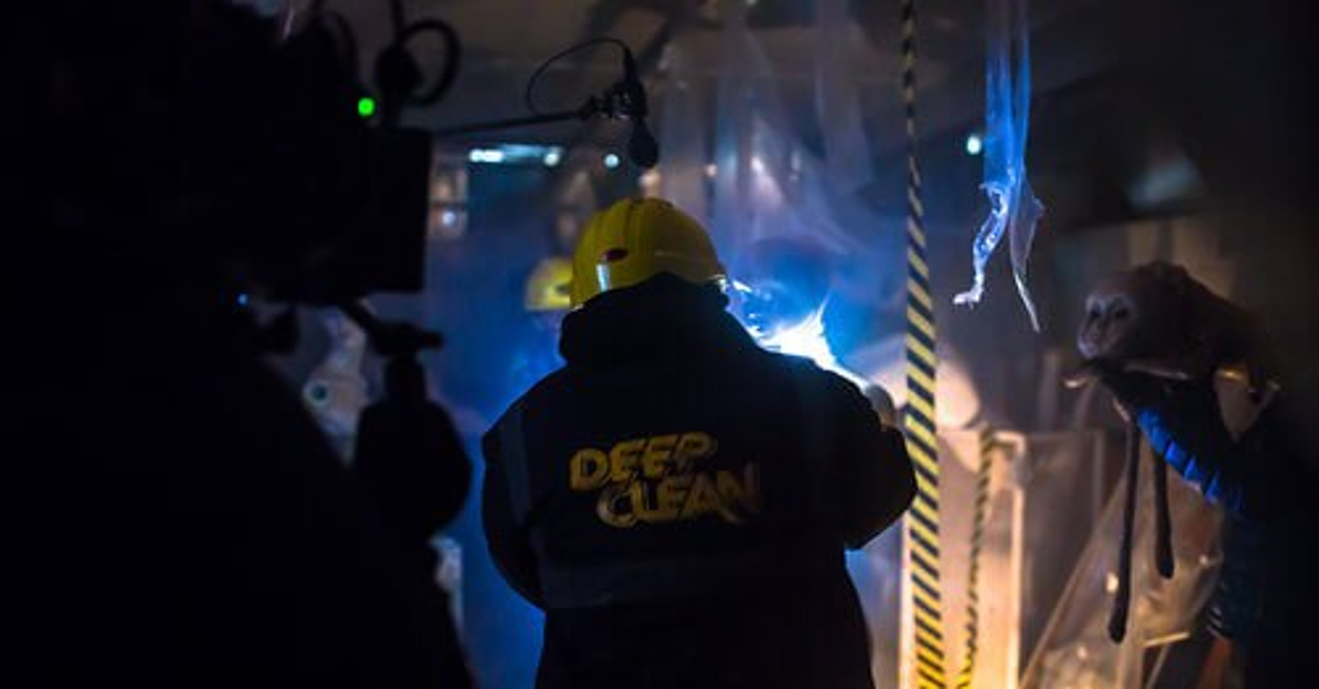 Deep Clean still21 1 - Watch Now: GAME OF THRONES Actor Paul Kaye Stars In Sci-Fi/Horror Short DEEP CLEAN