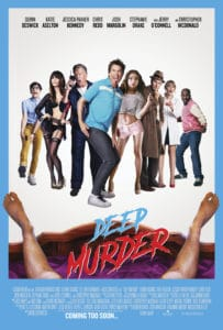 Deep Murder Poster 1 203x300 - Check Out Our Exclusive (NSFW) Clip from Porno-Themed Horror Movie DEEP MURDER + Free Screening Details