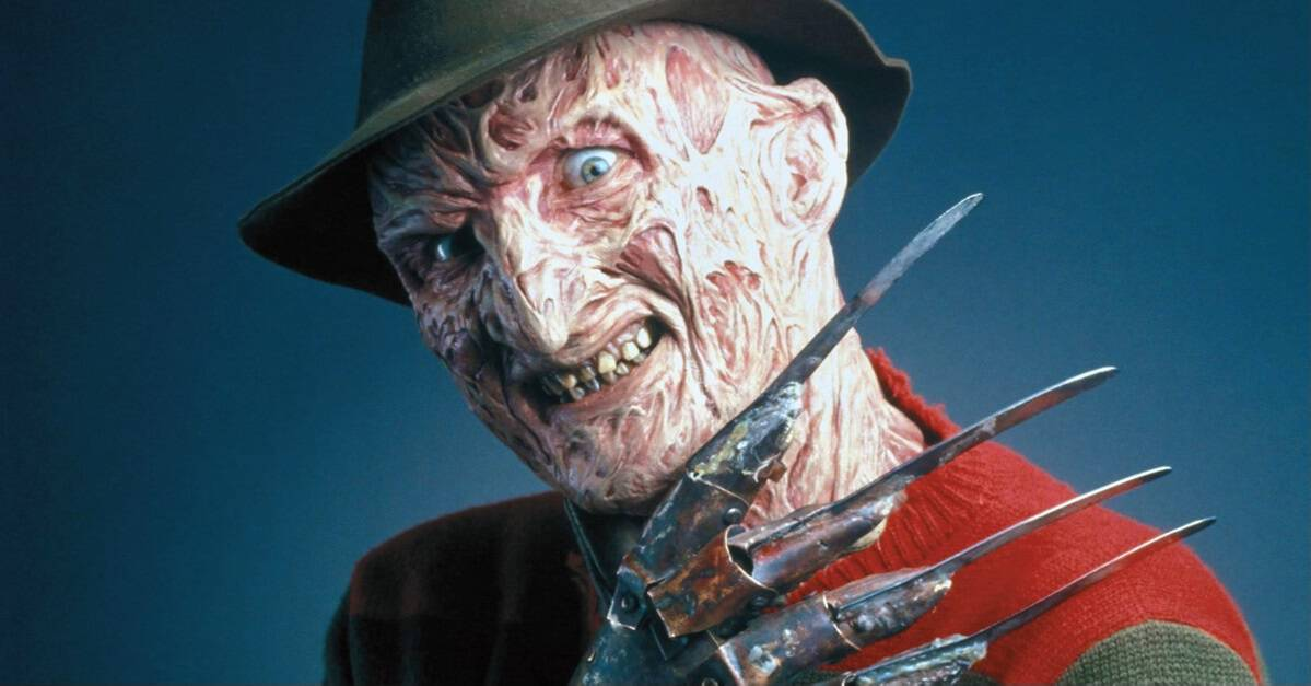 Freddy Krueger Banner - Young Freddy Fan's Dream Comes True Thanks to Robert Englund & Make-A-Wish