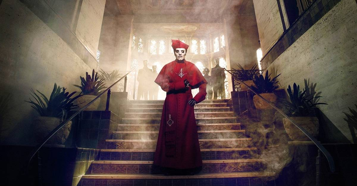 Ghost Banner - Tobias Forge Confirms There's a GHOST Feature Film in the Works--But Not What You Might Be Thinking