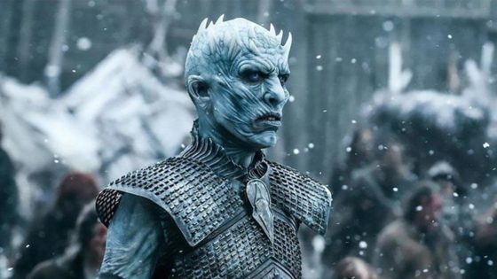 GoT Night King Banner 560x315 - Stephen King Knows Why Everyone is Hating So Hard on GAME OF THRONES Season 8 & Finale