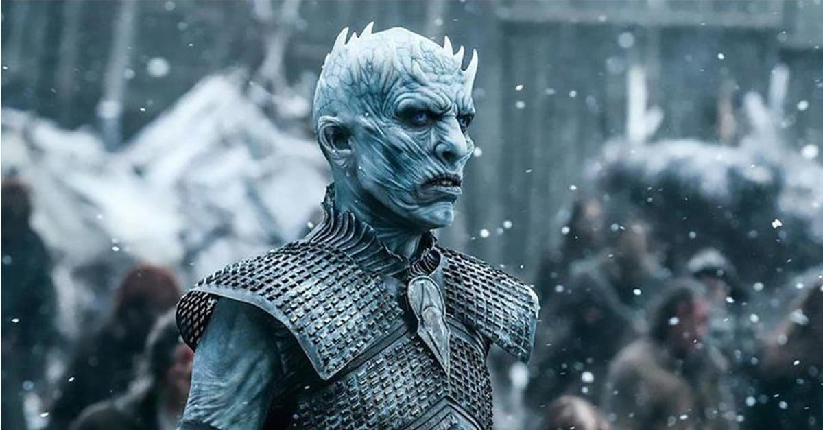 GoT Night King Banner - Stephen King Knows Why Everyone is Hating So Hard on GAME OF THRONES Season 8 & Finale