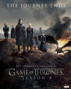 GoT S8 Poster 240x300 - Stephen King Knows Why Everyone is Hating So Hard on GAME OF THRONES Season 8 & Finale