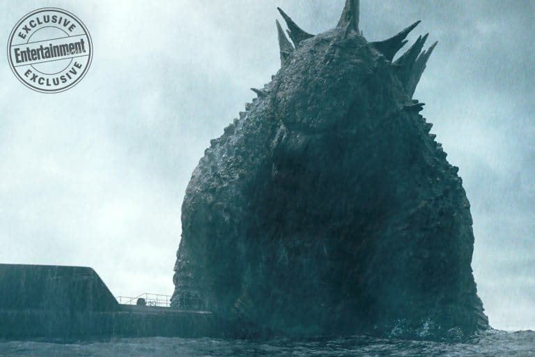 """Godzilla First Look - Godzilla Stares Down at Puny Humans in Latest """"First Look"""" from KING OF THE MONSTERS"""