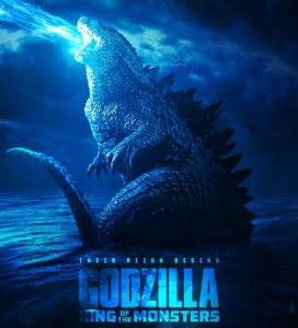 Godzilla KotM 2019 Poster 272x300 - GODZILLA: KING OF THE MONSTERS Production Designer Discusses Mothra's New Twin Heralds/Priestesses