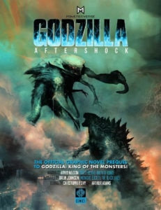 Godzilla Aftershock cover 231x300 - Trailer: Official Graphic Novel Prequel to GODZILLA: KING OF THE MONSTERS is Now Available