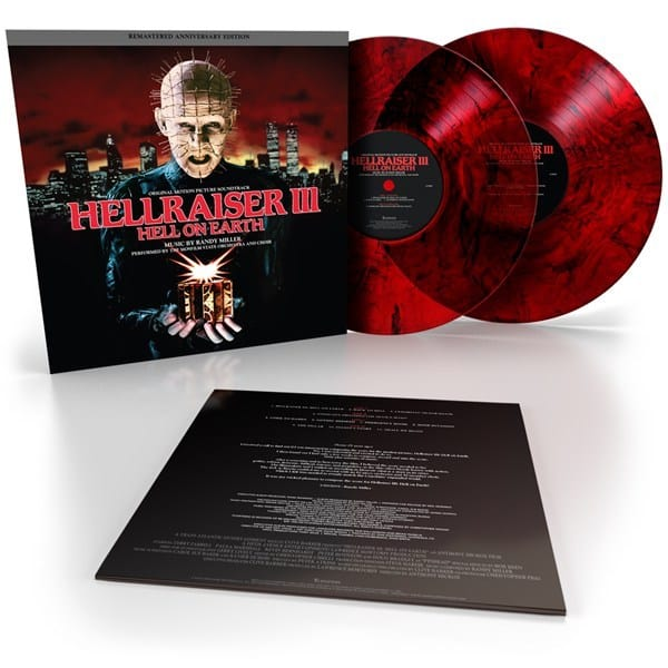 Hellraiser III vinyl beauty 600 2 - Exclusive: Randy Miller's HELLRAISER III: HELL ON EARTH Score Getting First-Ever Vinyl Release