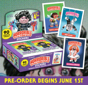 """Horrorible Kids 300x292 - """"Horrorible Kids"""" Series 4 (Including Art the Clown/TERRIFIER Parody) Now Available for Pre-Order!"""