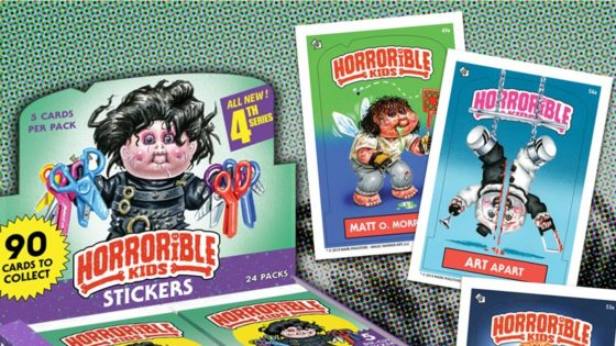 "Horrorible Kids Banner 560x315 - ""Horrorible Kids"" Series 4 (Including Art the Clown/TERRIFIER Parody) Now Available for Pre-Order!"