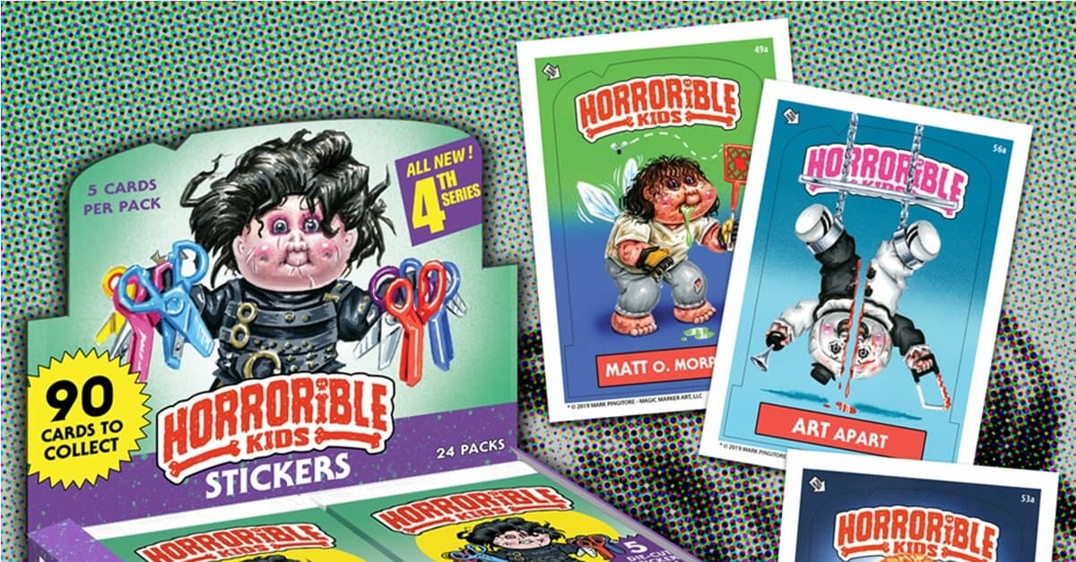 "Horrorible Kids Banner - ""Horrorible Kids"" Series 4 (Including Art the Clown/TERRIFIER Parody) Now Available for Pre-Order!"