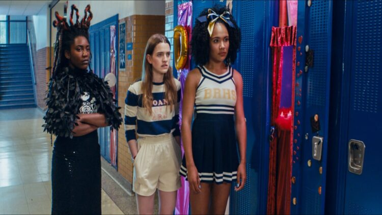 Knives and Skin trio Charlotte Laurel and Joanna 00224408 750x422 - Tribeca 2019: KNIVES AND SKIN Review: A Stylistically Sharp Suburban Noir