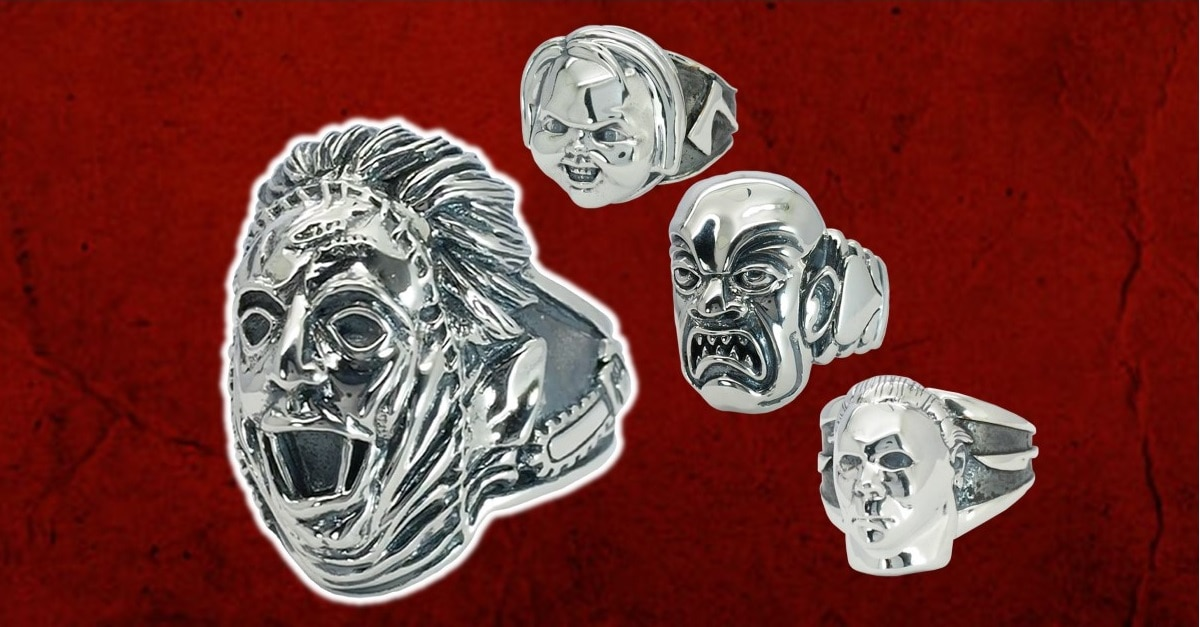 Monster Metals Jewelry - Bling for Horror Fans! Monster Metals Jewelry from Trick or Treat Studios Now Available for Pre-Order