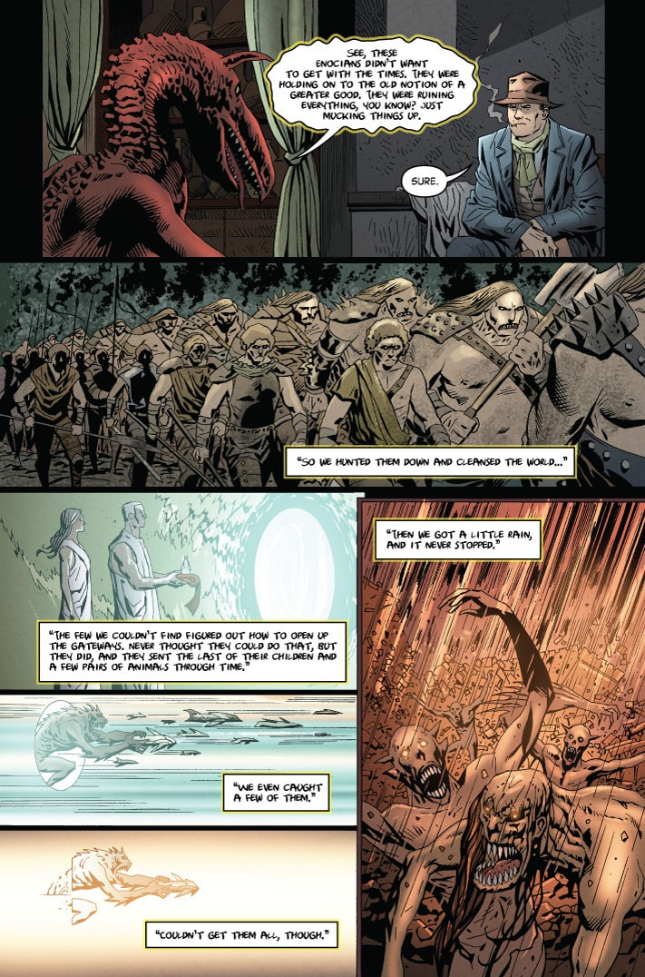 MonsterWorldGA 001 pg10 1 1 - Preview MONSTER WORLD: THE GOLDEN AGE #1 from American Gothic Press