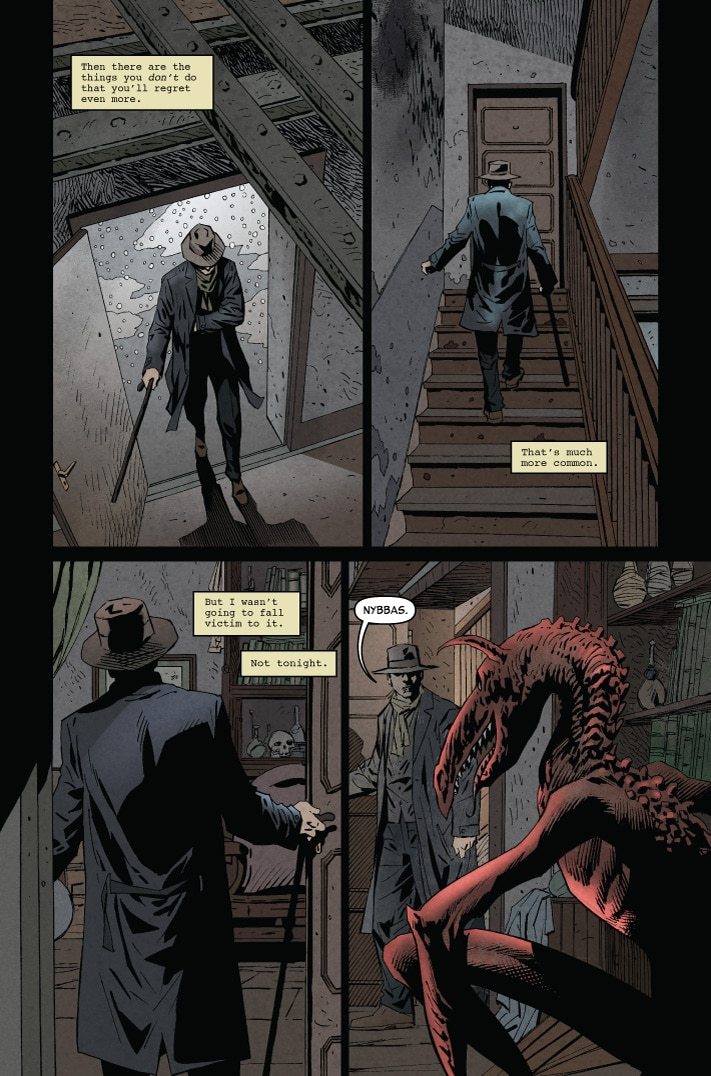 MonsterWorldGA 001 pg2 - Preview MONSTER WORLD: THE GOLDEN AGE #1 from American Gothic Press