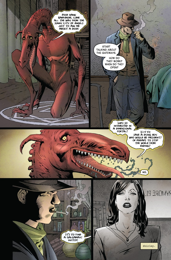 MonsterWorldGA 001 pg3 1 - Preview MONSTER WORLD: THE GOLDEN AGE #1 from American Gothic Press