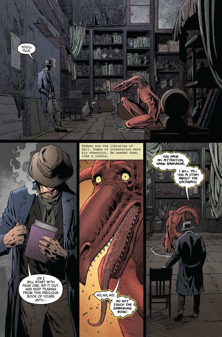 MonsterWorldGA 001 pg4 - Preview MONSTER WORLD: THE GOLDEN AGE #1 from American Gothic Press