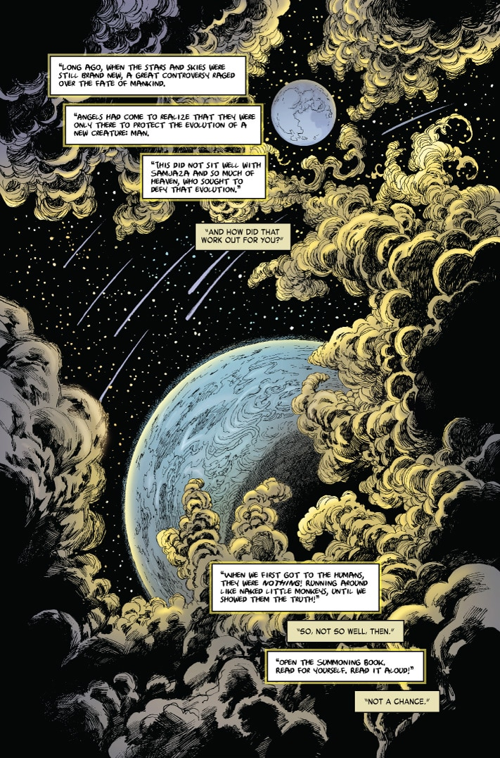 MonsterWorldGA 001 pg5 - Preview MONSTER WORLD: THE GOLDEN AGE #1 from American Gothic Press